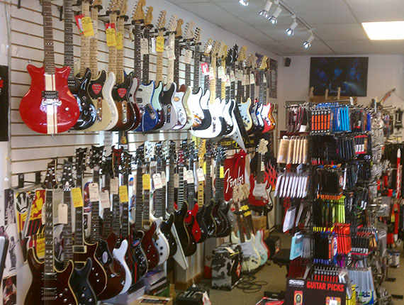 Guitars in our Altoona Store