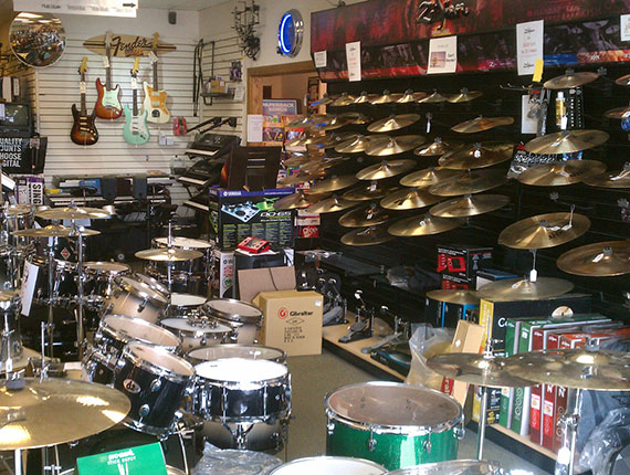 Drums and Cymbals in our Altoona Store
